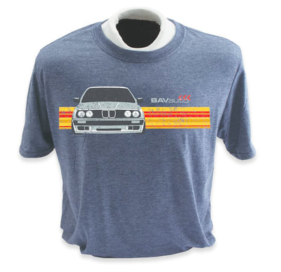 BAVauto® t-shirt design with vintage effect.