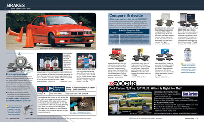 Bavarian Autosport catalog spread.
