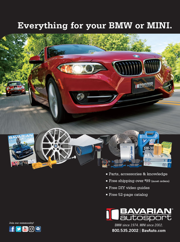 Bavarian Autosport full-page advertisement